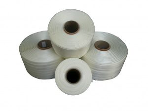 Tekstilni trak za ročno povezovanje in pakiranje bal