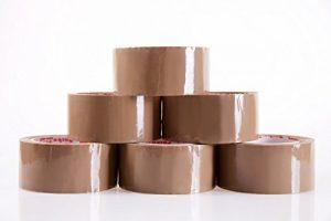 Lepilni trak rjav za zapiranje paketov