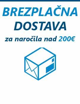 Brezplačna na vsa naročila nad 200€ preko spletne trgovine pakiraj.si