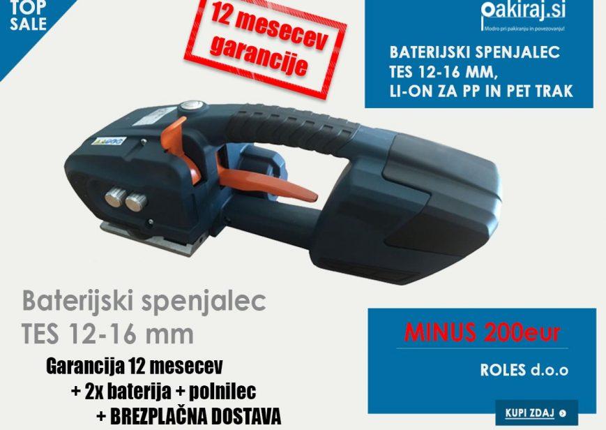 baterijski spenjalec TES nov, kvaliteten, poceni, akcija